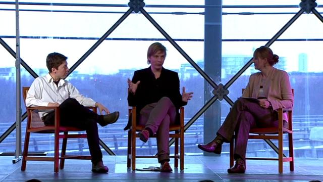 4. Keynotes in conversation - Shelley Bernstein and Jasper Visser, 2012
