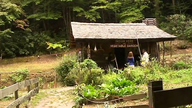 Nantahala Byway: Oconaluftee Indian Village - Herb Garden