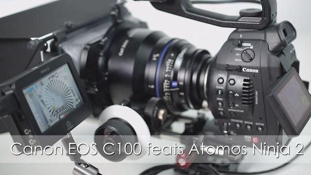 Canon EOS C100 feats Atomos Ninja 2 engl.