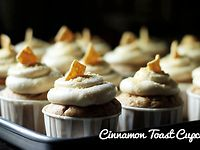 Cinnamon Toast Cupcake from The Foodie Chef
