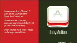 Objective-C vs. RubyMotion