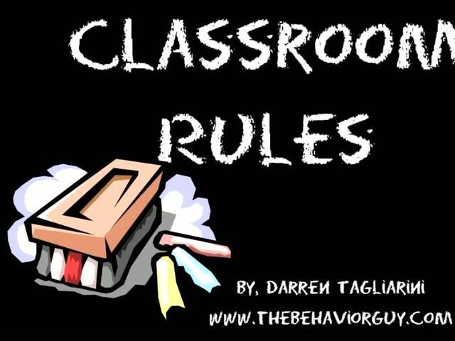 Good Classroom Rules