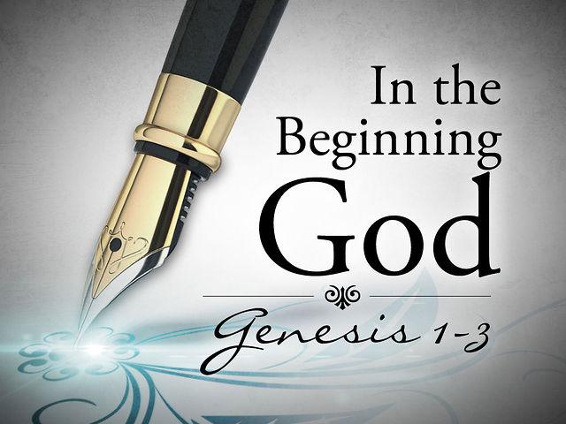 January 6, 2013 - In the Beginning God on Vimeo