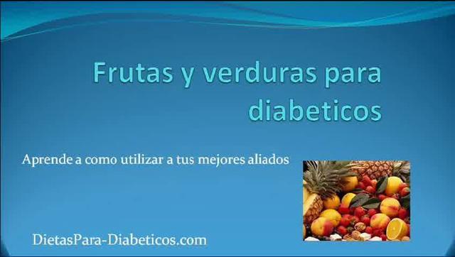 Frutas y Verduras para Diabeticos que deberías consumir on