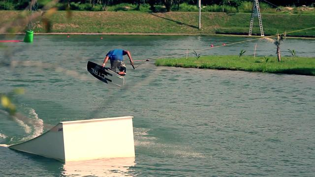 Lior Sofer in Phuket Wake Park