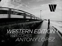 Welcoming Antony Lopez
