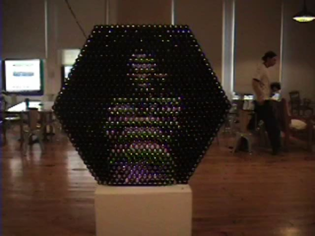 &quot;Shiny Balls Mirror&quot; (2003) by Daniel Rozin