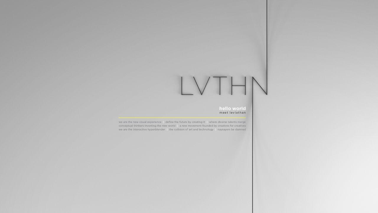 LVTHN - Hello World