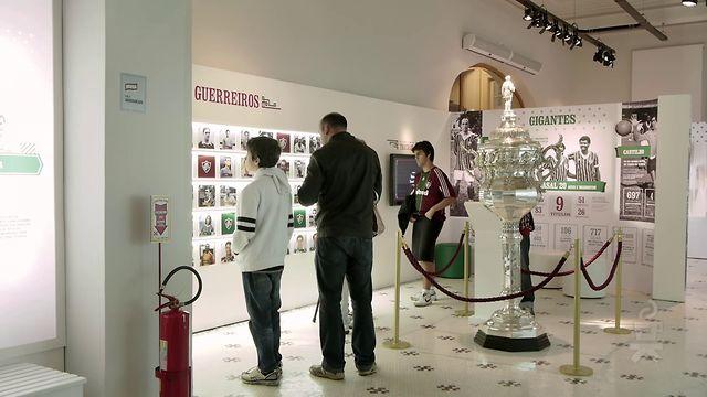 Sala de Troféus Fluminense: Tour