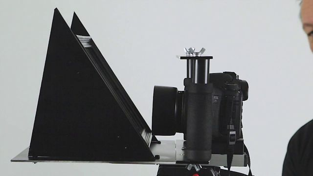 how to make a teleprompter ipad