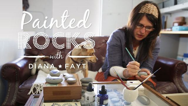 Painted Rocks with Diana Fayt