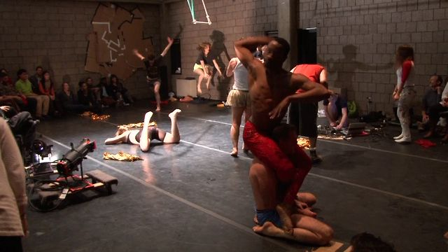 Turbulence (a dance about the economy) at AMERICAN REALNESS 2013