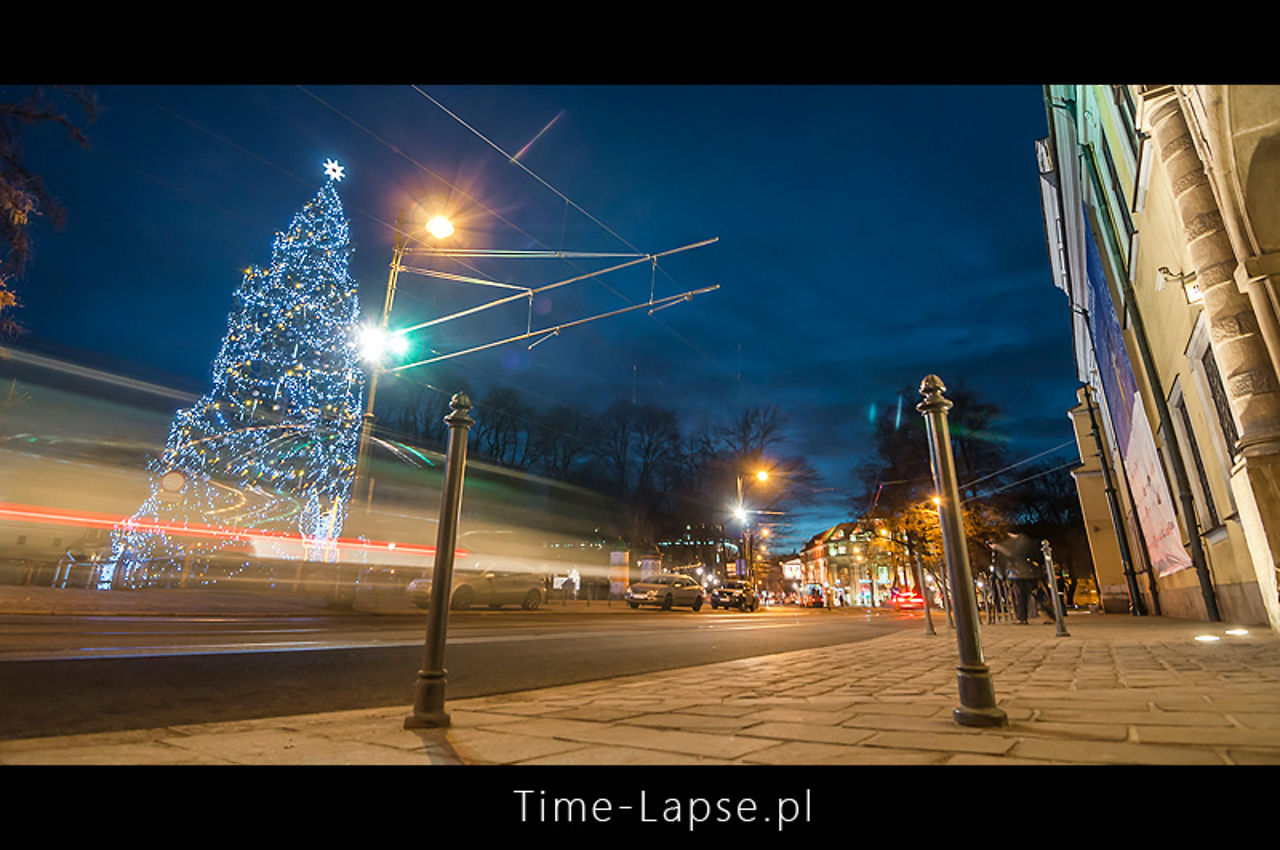 Time-Lapse: Krakow around Christmas