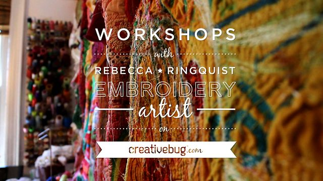 Rebecca Ringquist on Creativebug