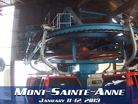 Mont-Sainte-Anne : January 11-12, 2013