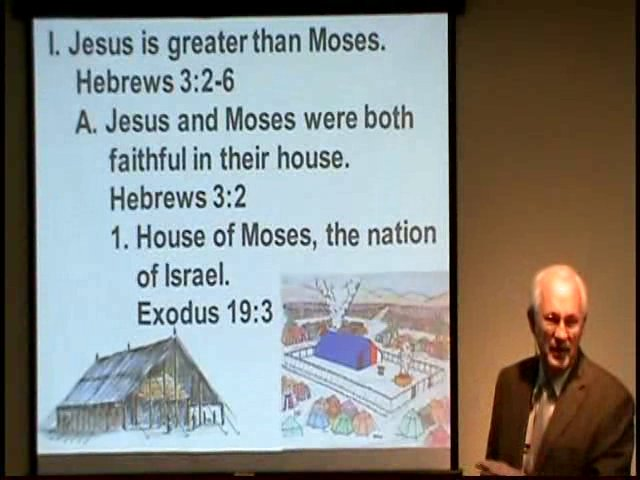 Hebrews 3:2-6 Jesus is greater than Moses on Vimeo