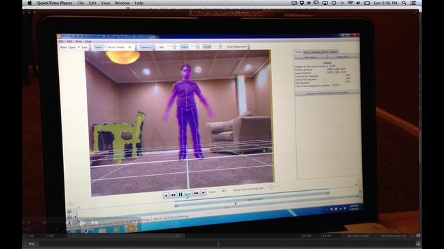 Maya HumanIK Mocap retarget with iPi Mocap Studio