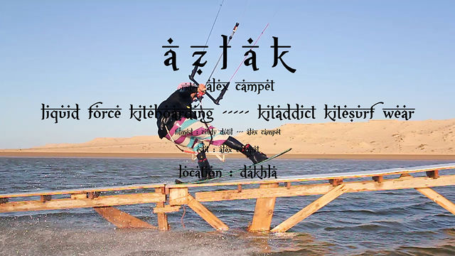 Kitesurfing News - Azlak: Alex Campet Hits Some Rails In Morocco