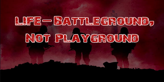 Playground or Battleground