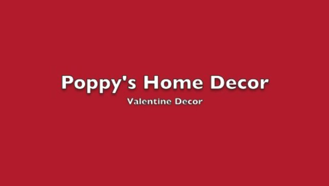 Poppy's Home Decor-Valentine Decor 2013