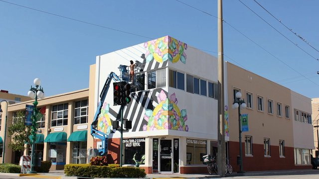 Downtown hollywood mural project on vimeo for Downtown hollywood mural project