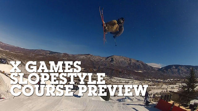 X Games 2013 - Slopestyle Preview with McRae Williams & Matt Walker