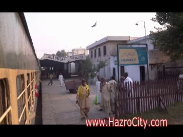 Attock city to Karachi Cantt by Awam Express (Train) Part 02