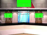 Virtual Studio 12 – Desk 01 w-monitors