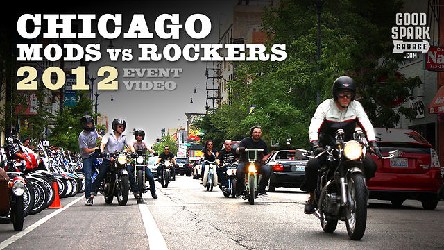 Chicago Mods vs Rockers 2012 : Motorcycle and Scooter Rally