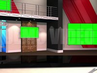 Virtual Studio 12 – Desk 03 w-monitors