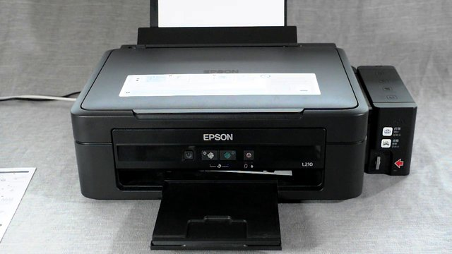 Epson L210 Photo Copy Grayscale Color On Vimeo