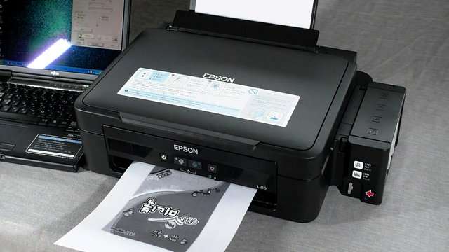 Epson L210 Papers Copy Grayscale And Color Copy On Vimeo