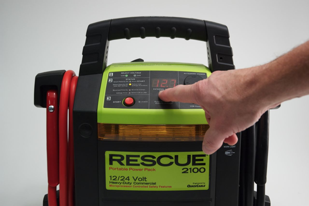 The Rescue 2100 Portable Power Pack