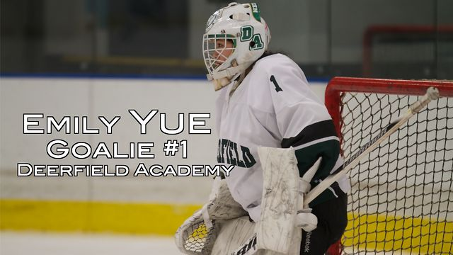 Emily Yue Goalie Highlights
