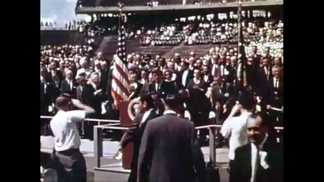 THE WORLD BEYOND  1] -PRESIDENT KENNEDY SPEAKS