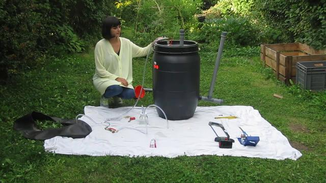 how to make a biogas digester