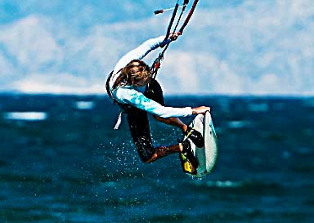 Kitesurfing News - Saki Bombing