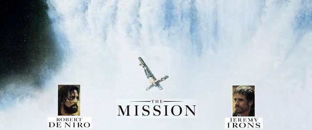 The mission (1986) - (hd music video)