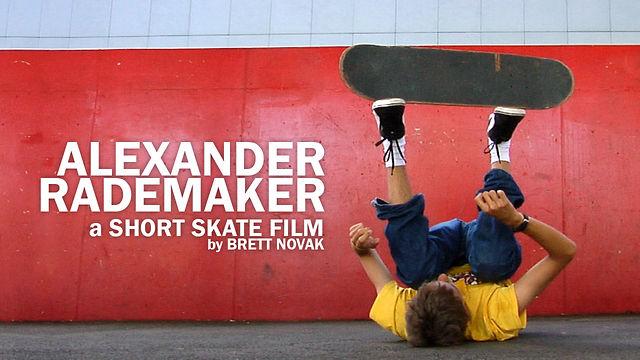 Alexander Rademaker: a Short Skate Film