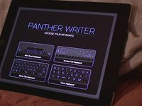 Video of Panther Writer