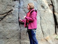 Rock Climbing Basics 6; Wire Placement