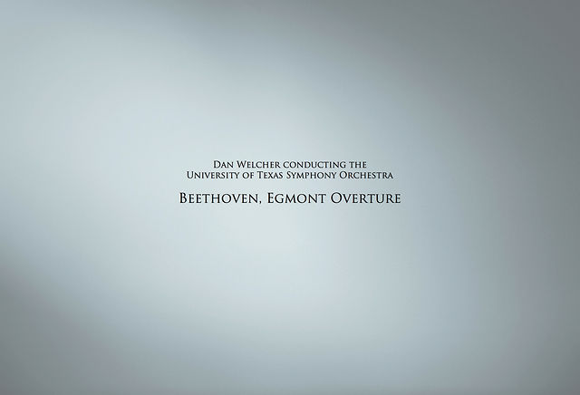 Beethoven, Egmont Overture