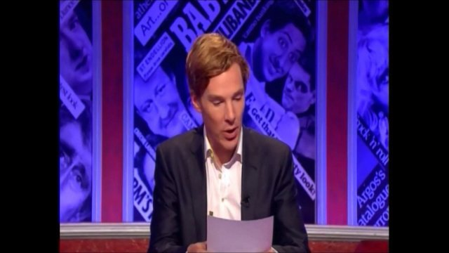 Benedict Cumberbatch hosting Have I Got News For You (part 2)