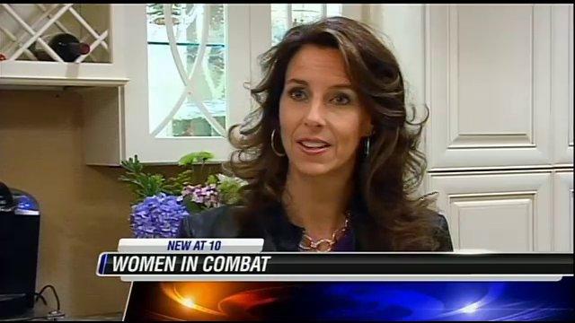 Carey Lohrenz - First Female Fighter Pilot in North America (F-14 Tomcat Carrier Naval Aviator) on WMC-TV