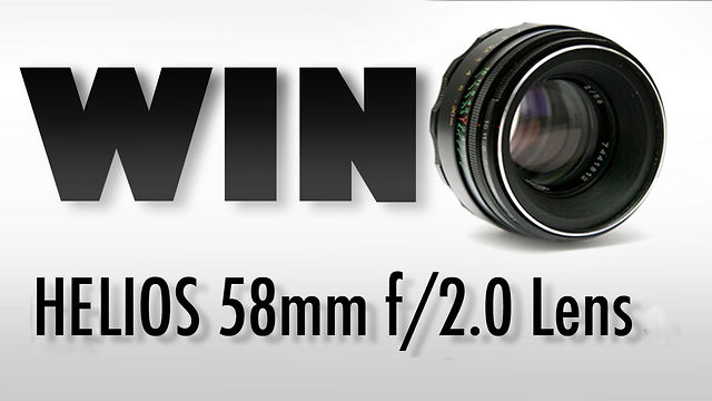 WIN HELIOS 58MM F/2.0 PRIME LENS | January Vintage Lens Giveaway