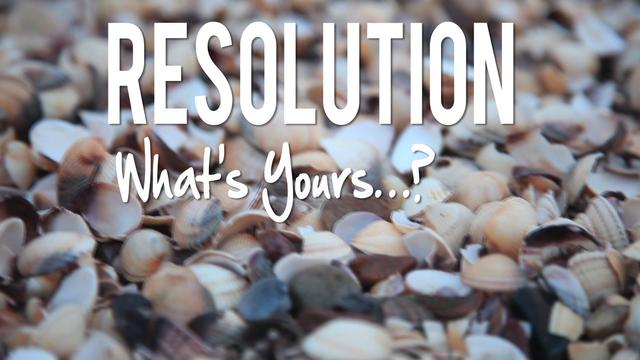 RESOLUTION: What's Yours? A Microadventure