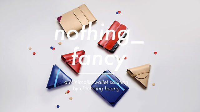 nothing_fancy : minimal wallets by chieh (demo)