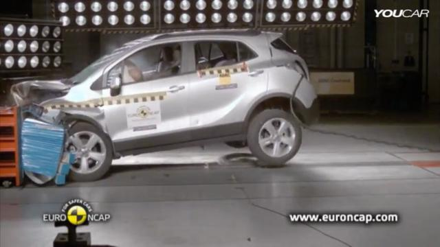 2013 opel mokka crash test on vimeo. Black Bedroom Furniture Sets. Home Design Ideas