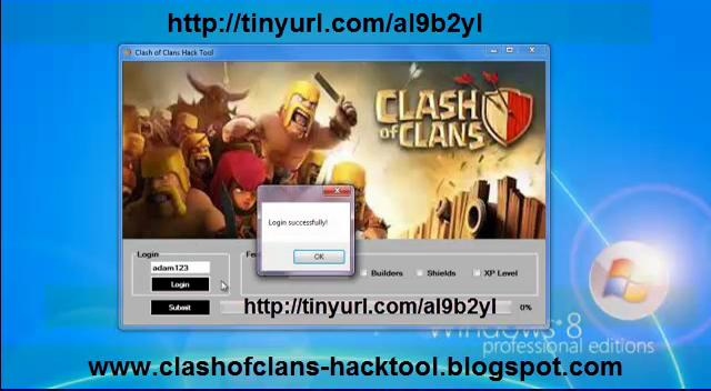 Clash Of Clans Hack & Cheats Download v11.0 Iphone, Android - PC