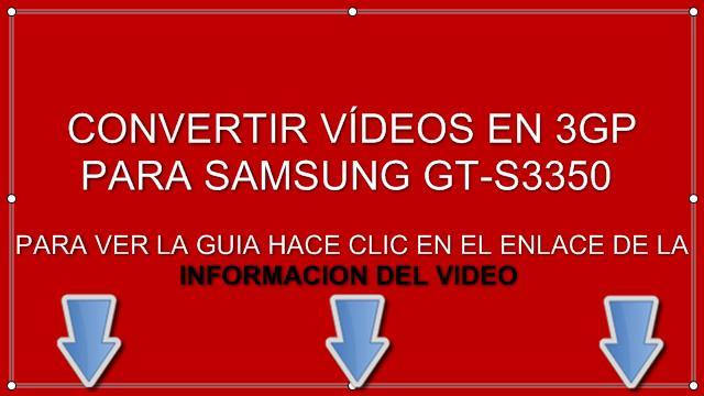descargar aplicaciones para samsung gt s3350
